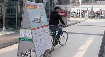 Publicitatea pe bicicletă